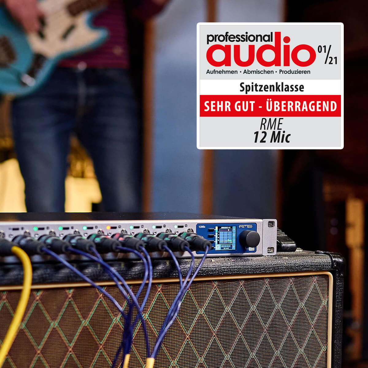 RME Audio 12Mic Best rated