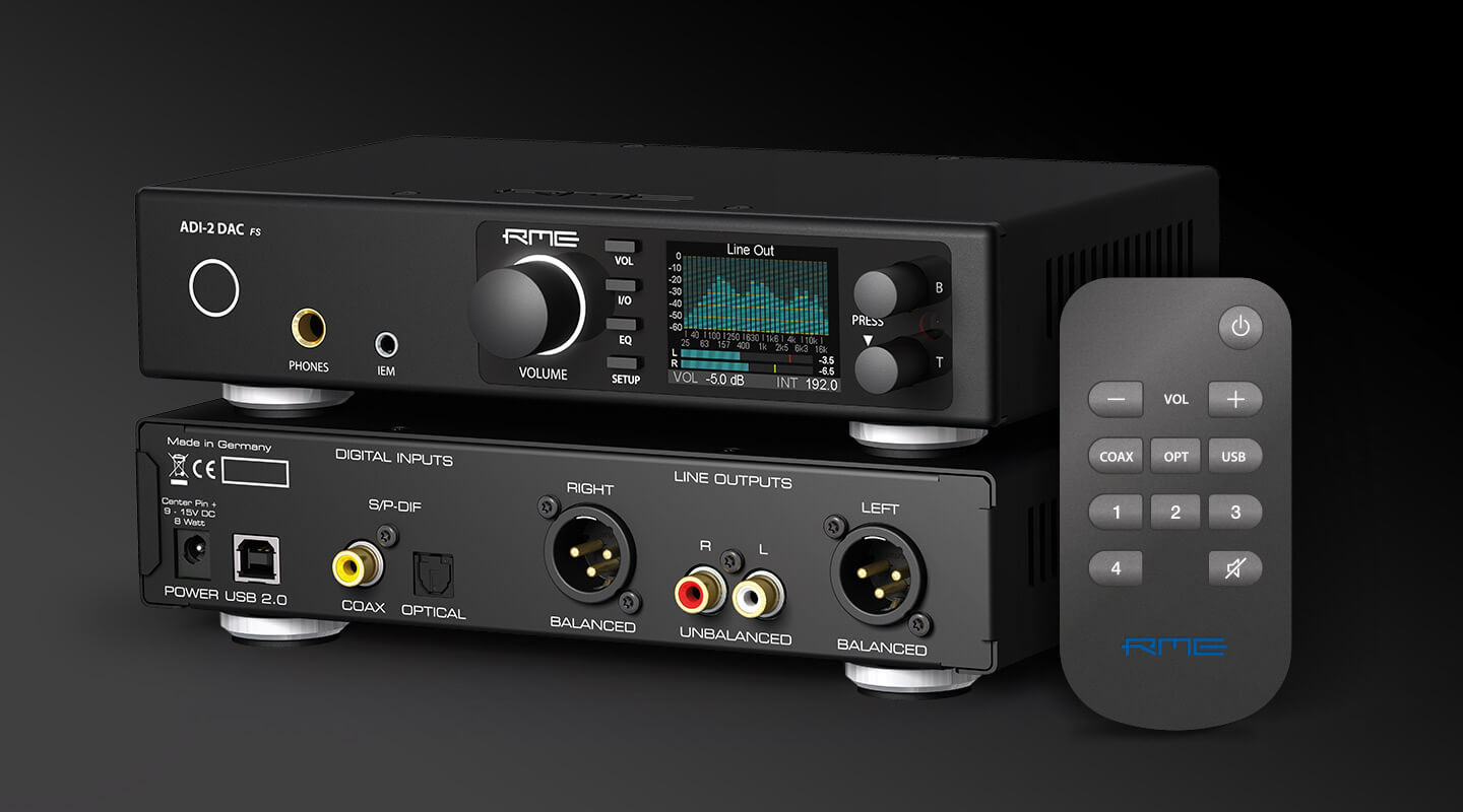 RME Audio ADI-2 DAC im Test bei Fairaudio