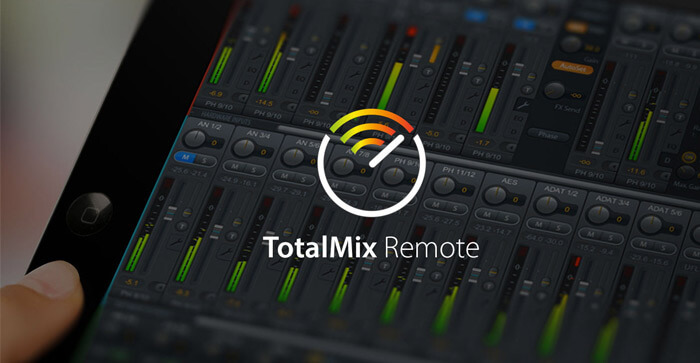 RME Audio TotalMix Remote