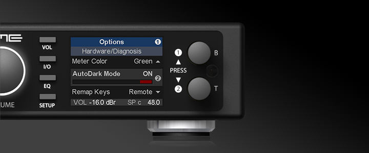 ADI-2 DAC - High Resolution Display